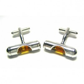 Yellow Level Cufflinks