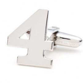 Number 4 Cufflinks