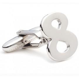 Number 8 Cufflinks