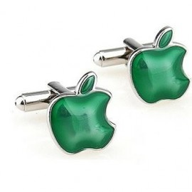Green Apple Cufflinks