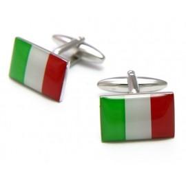 Italian Flag Cufflinks