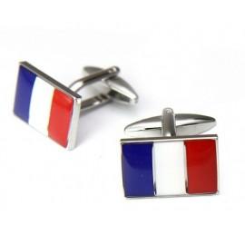 Gemelos Bandera Francia