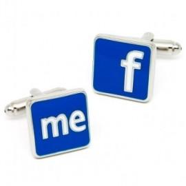 Facebook Cufflinks