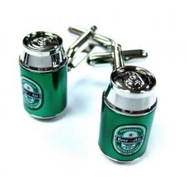 Gemelos Lata Cerveza Verde