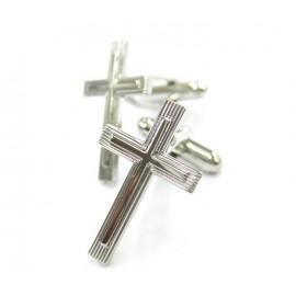 Gemelos Cruz Religiosa