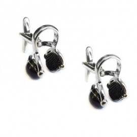 Small Headphones Cufflinks