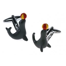 Grey Seal Cufflinks