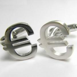 Euro Symbol Cufflinks