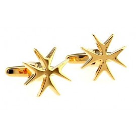 Golden Star Cufflinks