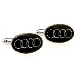 Black Audi Cufflinks