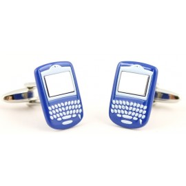 Blue Blackberry Cufflinks