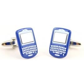 Blue Blackberry Cufflinks