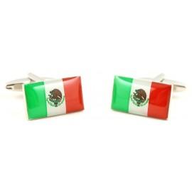 Gemelos Bandera Mexico