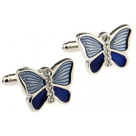 Gemelos Mariposa Azul