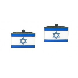 Israeli Flag Cufflinks