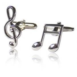 Gemelos Figura Musical y Clave de Sol