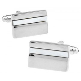 Silver and Mother of Perl Cufflinks