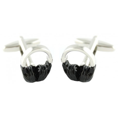 Headphones Cufflinks