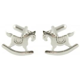 Rocking Horse Cufflinks