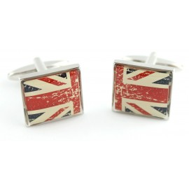 Vintage UK Flag Cufflinks