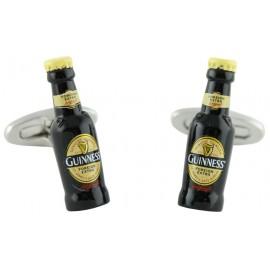 Gemelos Botellin Cerveza Guinness