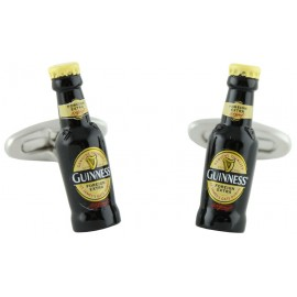 Guinness Bottle Cufflinks