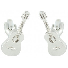 3D Spanish Guitar Cufflinks
