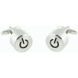 Power Button Cufflinks