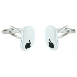 Apple Mouse Cufflinks