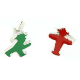 German Traffic Lights Cufflinks