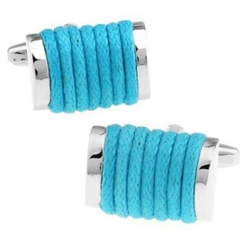 Turquoise Rope Cufflinks