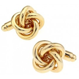 Golden Knot Cufflinks
