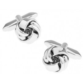 Plated Knot Cufflinks