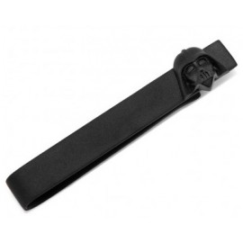3D Matte Black Darth Vader Head Tie Bar
