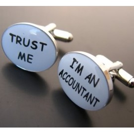 I´m an Accountant, Trust Me Cufflinks