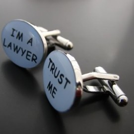 I´m a Lawyer, Trust Me Cufflinks