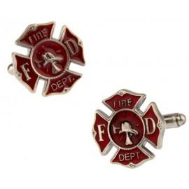 Fireman Shield Cufflinks