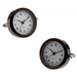 Gemelos Reloj Black