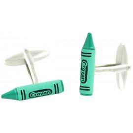 Gemelos Crayon Verde
