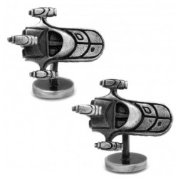 3D Land Speeder Cufflinks