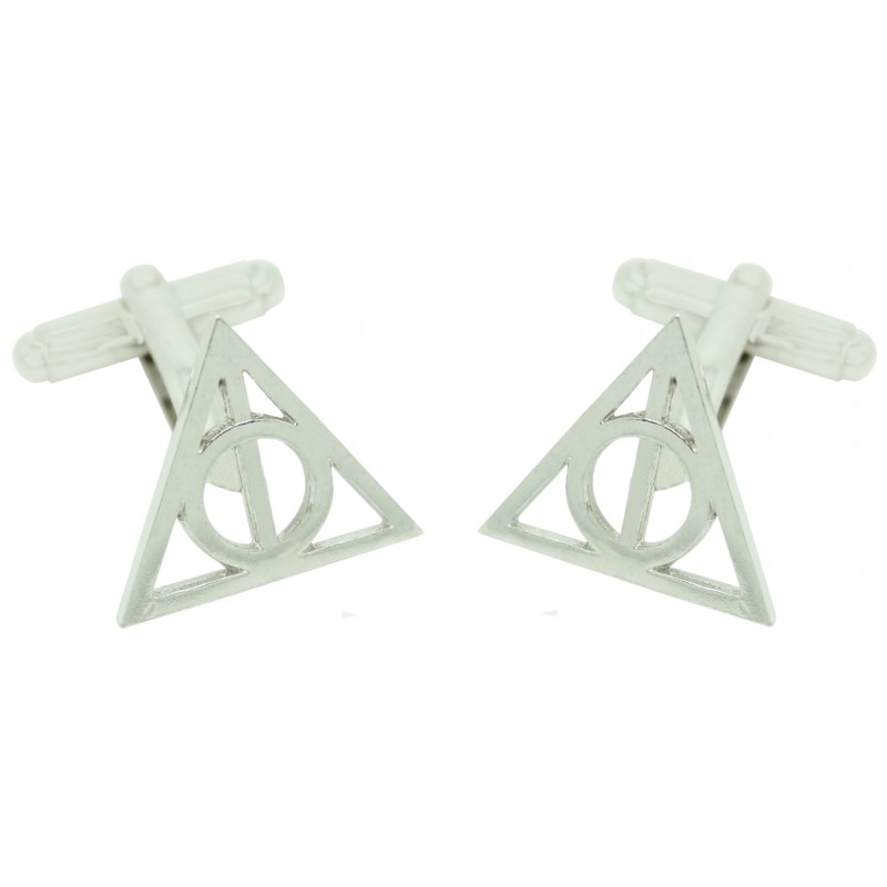 Harry Potter And The Deathly Hallows Symbol Cufflinks Wholesale