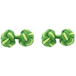 Gemelos Elásticos Bola Verde Hierba y Verde Pistacho