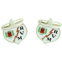 Rayo Vallecano Cufflinks