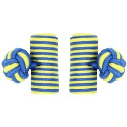 Gemelos Elásticos Barril Azul y Amarillo