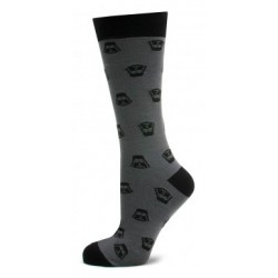 Grey Darth Vader Socks