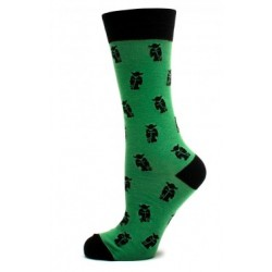 Green Yoda Socks