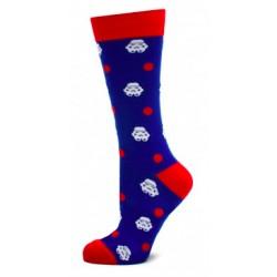 Stormtrooper Dot Socks