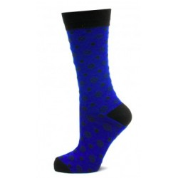 Blue Imperial Dot Socks