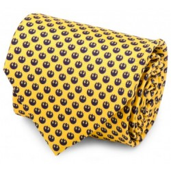 Rebel Yellow and Navy Tie
