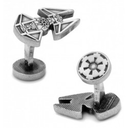 Tie Interceptor Cufflinks